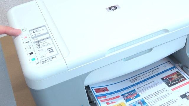 HP Drucker Tintenauffangbehälter voll - Tinte läuft unten aus dem Drucker - keine Fehlermeldung im Bedienfeld