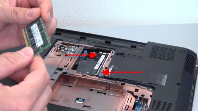 HP Pavilion g6 Laptop öffnen - Lüfter reinigen SSD einbauen Tastatur ausbauen - 2 RAM-Steckplätze