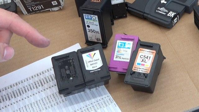 Leere Tintenpatronen verkaufen - Bargeld für Leergut - Druckerpatronen HP Canon Epson Brother - bereits wiederbefüllte oder manipulierte Druckpatronen