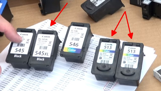 Leere Tintenpatronen verkaufen - Bargeld für Leergut - Druckerpatronen HP Canon Epson Brother - aktuelle Canon Druckpatronen ohne und mit Wert