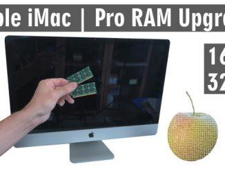 Apple iMac Pro RAM Upgrade - RAM erweitern