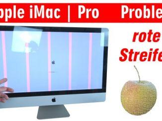 Apple iMac Pro rote Streifen im Display - startet nicht mehr | Startdisplay | reboot