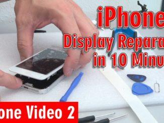 iPhone Display Reparatur in 10 Minuten - Kaufen Austausch Wechsel