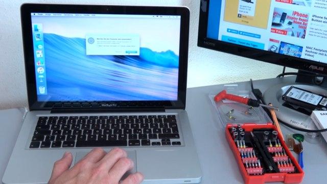 Apple MacBook Pro auf Werkseinstellung zurücksetzen - Festplatte löschen - OSX neu installieren - MacBook runterfahren und ausschalten