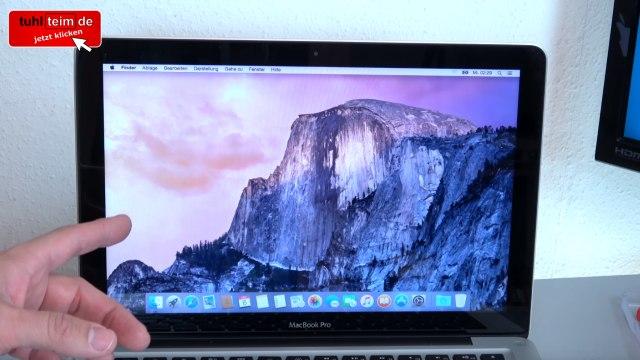 Apple MacBook Pro auf Werkseinstellung zurücksetzen - Festplatte löschen - OSX neu installieren - OS X ist neu installiert - alte Daten sind gelöscht