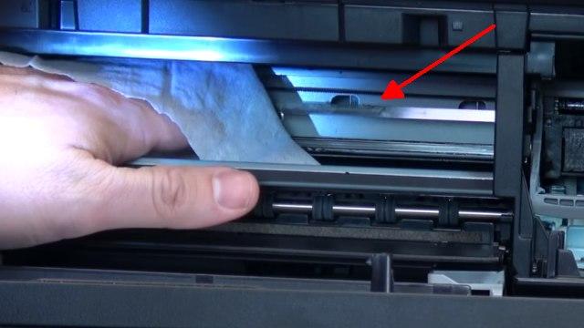 Canon Pixma 3 Fehler in einem Drucker - 5100 - Tintenpatrone defekt - druckt doppelt - Indexband reinigen