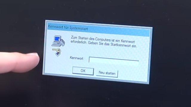 Falscher Microsoft Techniker verschlüsselt PC - Abzockanruf - Windows 10 wieder freischalten - Passwort mit syskey.exe gesetzt
