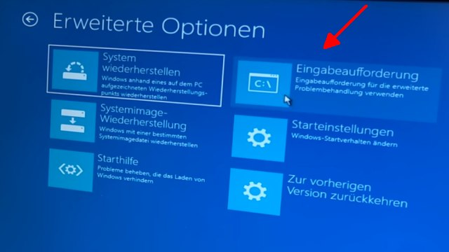 Falscher Microsoft Techniker verschlüsselt PC - Abzockanruf - Windows 10 wieder freischalten - Eingabeaufforderung