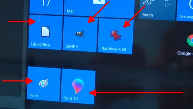 Windows 10 Screenshot Bildschirmfoto machen ohne Extrasoftware - speichern, drucken oder in Word einfügen - bei Windows dabei: Paint und Paint 3D