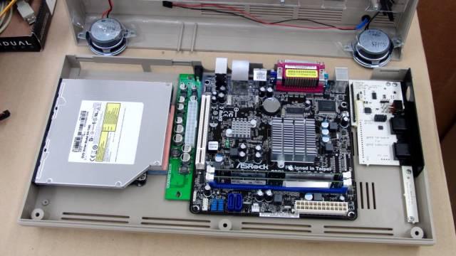 Commodore 64 Spiele DosBox Emulator D-Fend Reloaded - Umbau - C64 Retro Mod - Gehäuseumbau