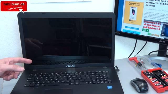 Notebook Festplatte macht laute kratzende Geräusche + Klickgeräusche - HDD defekt - Platte im Laptop ist sehr laut