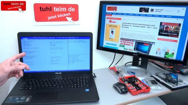 Notebook Festplatte macht laute kratzende Geräusche + Klickgeräusche - HDD defekt - Festplatte austauschen
