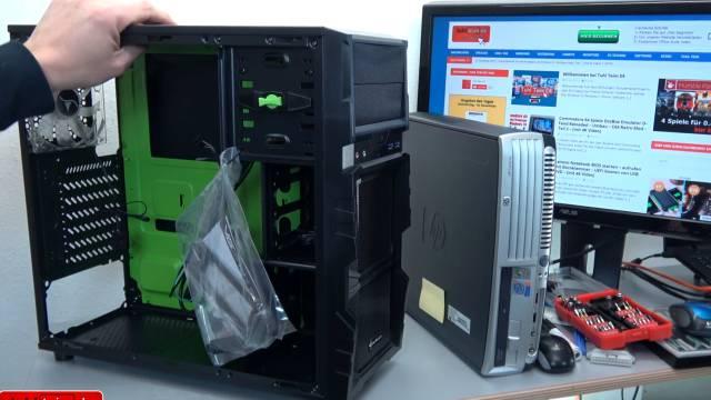 PC Gehäuse Test - Heute gegen Früher - billig und klapprig gegen teuer und solide - neues ATX-Mini / Midi-Tower-Gehäuse