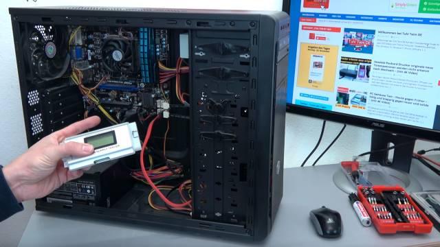 PC vom Schrott - AMD 3.5GHz 8GB SSD - kostenlos in 15min reparieren - EFI Shell Version - dieser PC kommt vom Müll