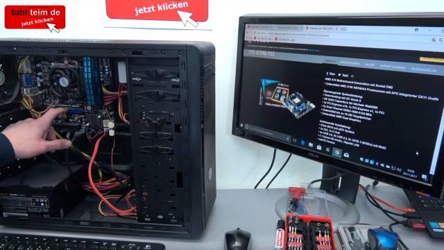 PC vom Schrott - AMD 3.5GHz 8GB SSD - kostenlos in 15min reparieren - EFI Shell Version - Markenmainboard von MSI
