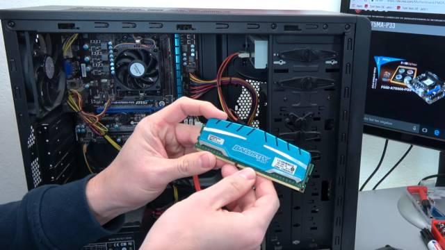 PC vom Schrott - AMD 3.5GHz 8GB SSD - kostenlos in 15min reparieren - EFI Shell Version - Marken-RAMs von Ballistix