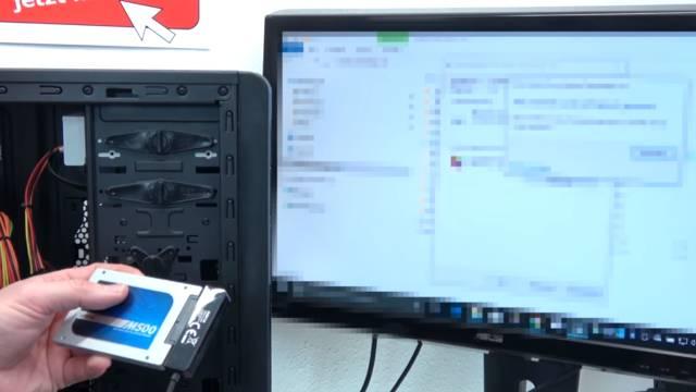 PC vom Schrott - AMD 3.5GHz 8GB SSD - kostenlos in 15min reparieren - EFI Shell Version - SSD an anderen Rechner angeschlossen
