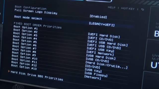 PC vom Schrott - AMD 3.5GHz 8GB SSD - kostenlos in 15min reparieren - EFI Shell Version - Bios Legacy + UEFI Bootreihenfolge