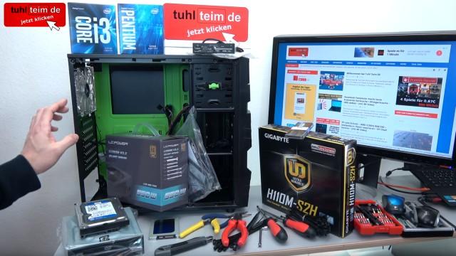 PC zusammenbauen - Schritt für Schritt - eigenen Rechner bauen - Anleitung - Prozessor, Mainboard, Netzteil, SSD, Festplatte