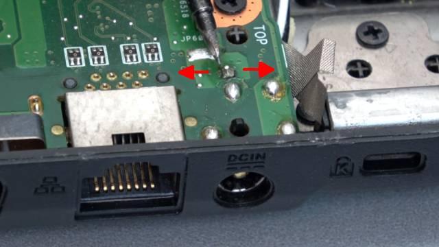 Laptop Reparatur kostenlos - nur Netzteilbuchse nachlöten - Notebook defekt ohne Funktion - Innenstecker wackelt - Lötstelle lose