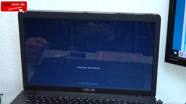 Neue Notebooks Windows 7 inkompatibel - Installation hängt - Laptop nur Windows 10 kompatibel - Booten von DVD hängt sich auf