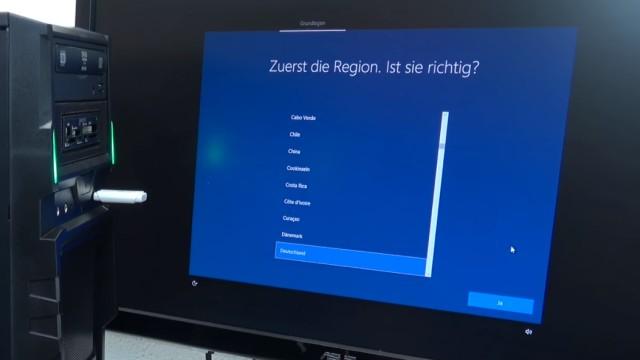 Neuer PC Windows 10 installieren von USB - UEFI-Bios einstellen - Windows schneller machen - Windows 10 Einstellungen vornehmen