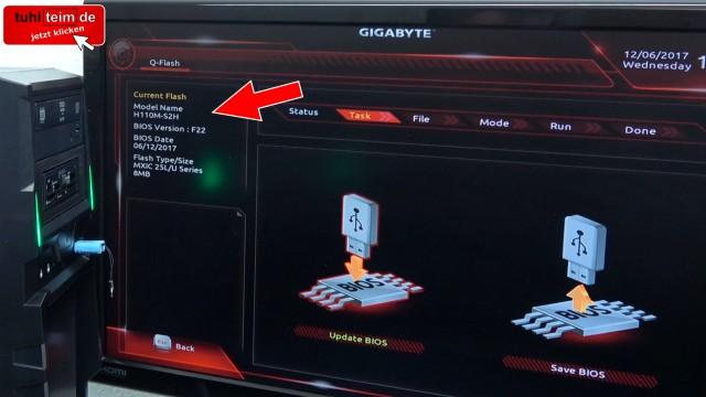 PC Bios Update Flash - UEFI Mainboard aktualisieren | brennen Windows 10 USB-Stick - Update im Bios selbst brennen - Q-Flash