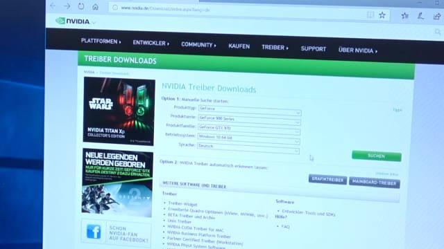 PC Grafikkarte einbauen - austauschen - Fehlersuche bei Problemen - PCI Express Anschlüsse - Treiberdownload NVidia