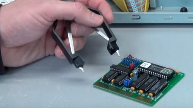 Virus löscht Bios-Chip im PC - 1999 - BIOS Update flashen - Wie alles angefangen hat - CT-Flasher - Flash-Platine selbstbestückt