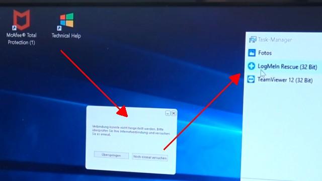 Windows 10 Computer ist gesperrt beim Surfen im Internet - 500 Euro bitte nicht zahlen - Tech Support Scam - Fernsteuerungsaufruf - Technical Help