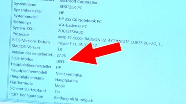 Windows 10 - mbr2gpt.exe - Windows 10 schneller machen - HDD SSD umformatieren - Bios-Modus: jetzt UEFI