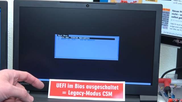 Windows 10 startet 4x schneller - mit UEFI vs. ohne UEFI (BIOS) - Booten beschleunigen - Windows 10 bootet nicht mehr