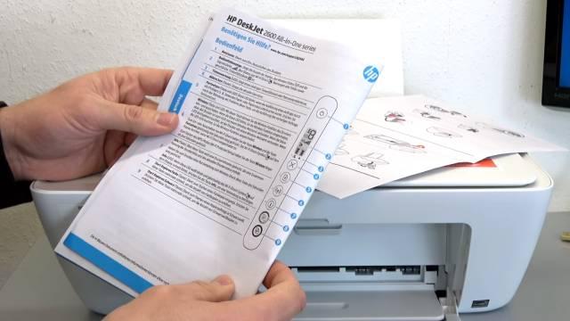 HP Drucker nagelneu und schon defekt - alle LEDs blinken - Tipps zur Fehlersuche - Handbuch nicht weiter hilfreich