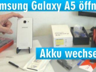 Samsung Galaxy A5 öffnen - Akku wechseln - Akku schnell leer und heiß