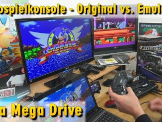 Videospielkonsole - Original vs. Windows 10 Emulation - Sega Mega Drive - Genesis