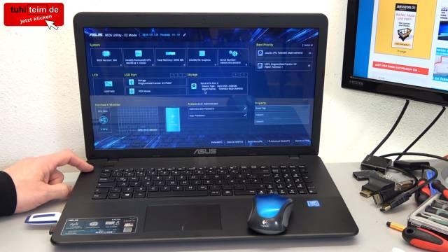 Ubuntu Linux installieren - Download - USB-Stick erstellen - auf UEFI Notebook installieren - Laptop vom USB-Stick booten