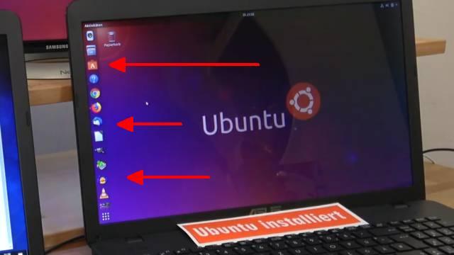Windows 10 gegen Ubuntu 17 Linux Test auf identischen neuen UEFI Notebooks - 12 Programme auf beiden gleich installiert