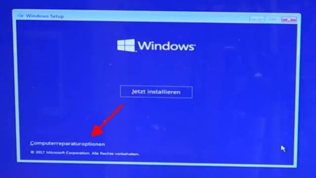 Windows 10 lässt sich nicht installieren auf HDD oder SSD - einfache Lösung - Computerreparaturoptionen