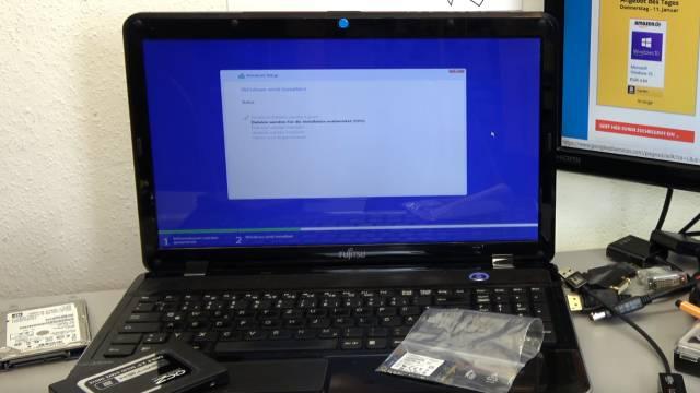 Windows 10 lässt sich nicht installieren auf HDD oder SSD - einfache Lösung - Windows 10 lässt sich wieder installieren