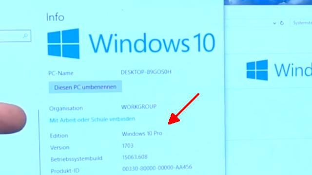 Windows 10 neu installieren ohne Datenverlust - alte Daten behalten - Emails Dokumente - vor der Installation Windows 10 Version prüfen