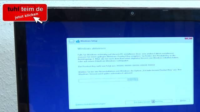 Windows 10 neu installieren ohne Datenverlust - alte Daten behalten - Emails Dokumente - richtige Windows 10 Version auswählen