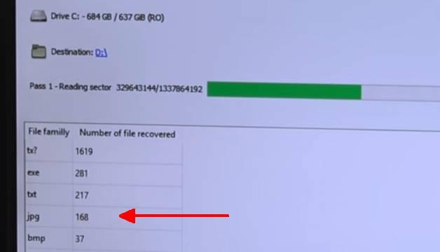 Windows 10 gelöschte Daten wiederherstellen - Fotos Videos Texte Musik - PhotoRec findet gelöschte Dateien