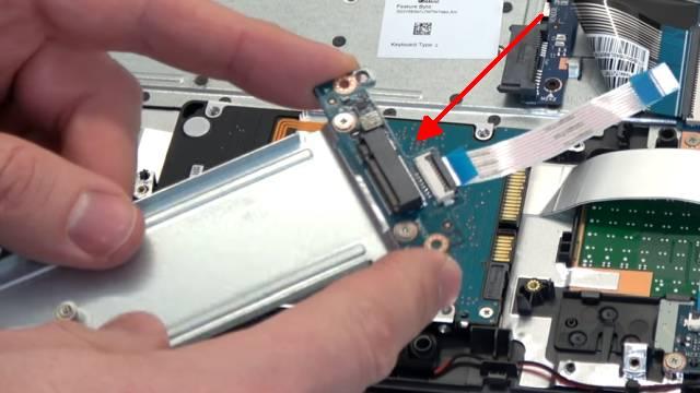 HP Notebook 255 öffnen M.2 SSD ausbauen - 2TB SATA HDD einbauen - Bios einstellen - Windows 10 installieren - M.2-Adapter auf Flachbandkabel