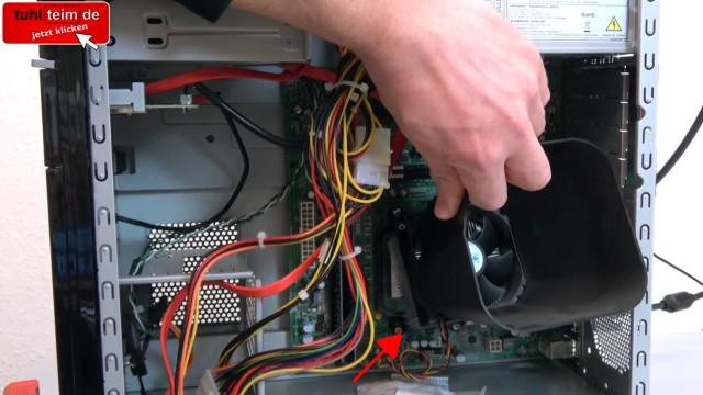 AMD Prozessor - Pin abgebrochen - funktioniert trotzdem - verbogen - reparieren - CPU-Lüfter und Kühlkörper ist locker
