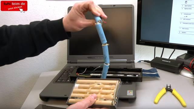 Was man mit seinem Notebook Akku niemals machen sollte | Laptop-Batterie - gebrauchtes Notebook - Originalakku für ein anderes Notebook