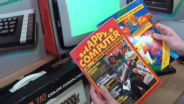 """Wie alles angefangen hat - 1984 - von 4KB RAM zu Microsoft Windows 10 - Computer-Zeitschriften """"Happy Computer"""" und """"Mein Home-Computer"""""""