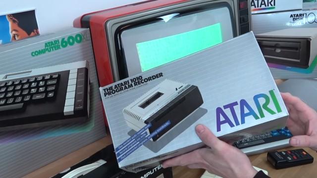 Wie alles angefangen hat - 1984 - von 4KB RAM zu Microsoft Windows 10 - Datasette / Kassettenrekorder Atari 1010