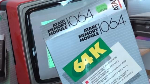 Wie alles angefangen hat - 1984 - von 4KB RAM zu Microsoft Windows 10 - Speichererweiterung Atari 1064 auf 64KB RAM