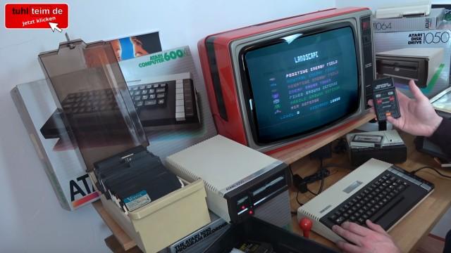 Wie alles angefangen hat - 1984 - von 4KB RAM zu Microsoft Windows 10 - komplettes Heimcomputer-System mit Floppy und Farbfernsehere