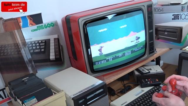 Wie alles angefangen hat - 1984 - von 4KB RAM zu Microsoft Windows 10 - BC's Quest For Tires auf dem Atari 800XL